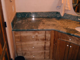 Costal Emerald Oak Vanity